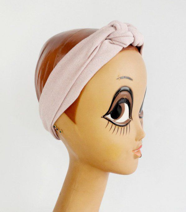 Headband Rose Pailleté