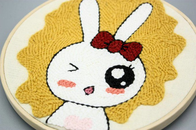 Broderie Lapine